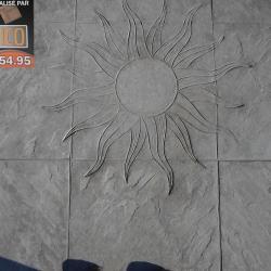 Soleil imprimé
